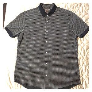 Men's Michael Kors shirt Large Slim Fit